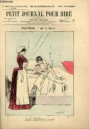 Petit journal pour rire N°104 de la 4è série, Baliverne par Grévin.: MAISON PHILIPON ET Cie