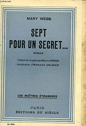 SEPT POUR UN SECRET.: MARY WEBB