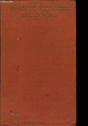 SALAMMBÔ vol 4: GUSTAVE FLAUBERT