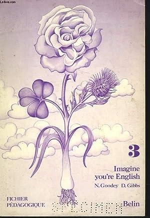 IMAGINE YOU'RE ENGLISH. 3. FICHIER PEDAGOGIQUE: N. GOODEY ET