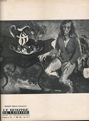 LE PEINTRE guide du collectionneur bi mensuel n°302 : Beauce (galerie Letourneur), Rouault, le ...