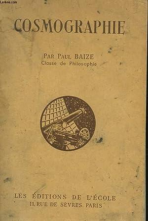 COSMOGRAPHIE. CLASSE DE PHILOSOPHIE. N° 227. 62: PAUL BAIZE
