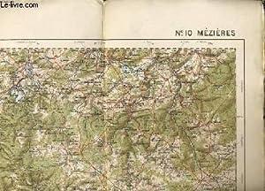 """CARTE DE FRANCE ET DES FRONTIERES """"MEZIERE"""" n°10 type 1912: COLLECTIF"""
