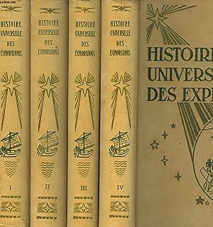 HISTOIRE UNIVERSELLE DES EXPLORATIONS EN 4 TOMES.: L.-H. PARIAS (SOUS