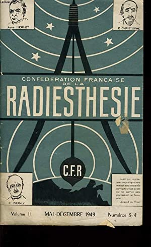 CONFEDERATION FRANCAISE DE LA RADIESTHESIE Vol II: ABBE MERMET &