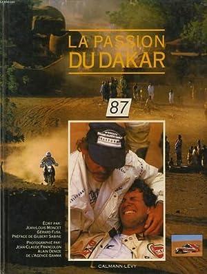 LA PASSION DU DAKAR 87: JEAN LOUIS MONCET & GERARD FUSIL