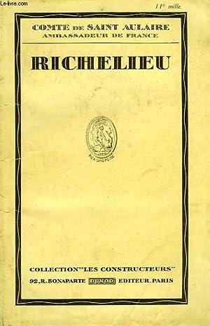 RICHELIEU: SAINT AULAIRE COMTE DE