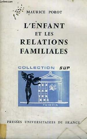 L'ENFANT ET LES RELATIONS FAMILIALES - PAIDEIA BIBLIOTHEQUE PRATIQUE DE PSYCHOLOGIE ET DE ...