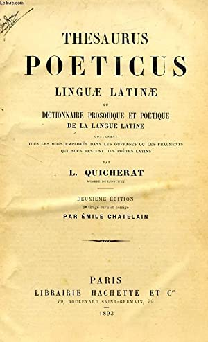 Quicherat & Chatelain cover