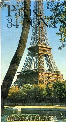 PARIS : 34 PONTS: COLLECTIF