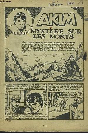 AKIM N°140. MYSTERE SUR LES MONTS.: COLLECTIF