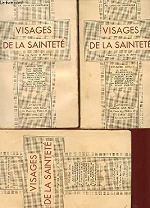 VISAGES DE LA SAINTETE - PREMIERE, DEUXIEME, TROISIEME SERIE: FR. LOUIS DE GONZAGUE