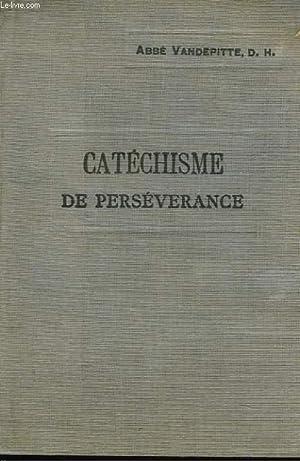 EXPLICATION DU CATECHISME A L'USAGE DES COURS: ABBE VANDEPITTE