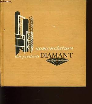 NOMENCLATURE DES PRODUITS DIAMANTS: COLLECTIF