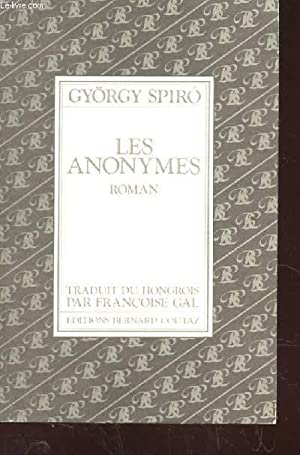 LES ANONYMES: SPIRO GYORGY