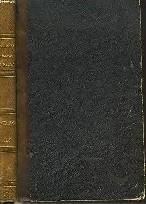 LES IDEES DE Mme AUBRAY. COMEDIE EN: ALEXANDRE DUMAS FILS