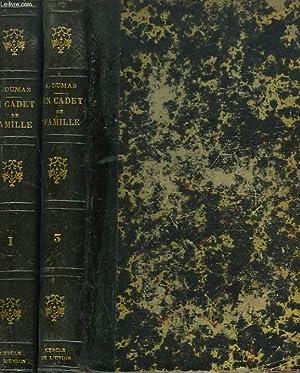 CADET DE FAMILLE tomes 1 et 3,: ALEXANDRE DUMAS