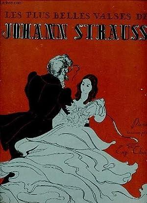 LES VALSES CELEBRES.: JOHANN STRAUSS.