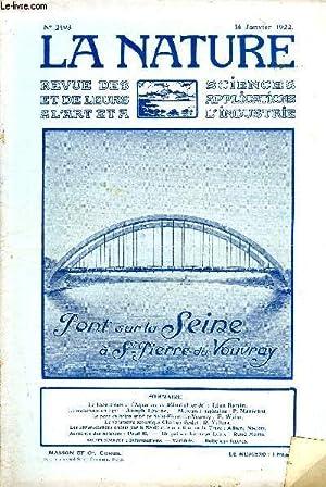 Revue des sciences et de leurs applications aux arts et à l'industrie, Pont sur la Seine à St ...