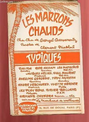 LE MARCHAND DE PASTEQUES / LES MARRONS CHAUDS.: GEORGES GARVARENTZ.