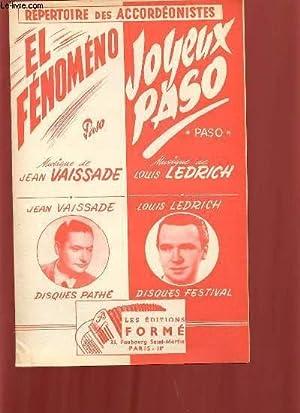 JOYEUX PASO / EL FENOMENO.: LOUIS LEDRICH /