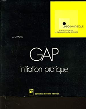 GAP initiation pratique: D. LAMRUE
