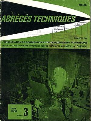 ABREGES TECHNIQUES n°3 : une échelle de pilote en caoutchouc, une machine à ...