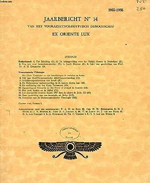 JAARBERICHT N° 14, 1955-1956, VAN HET VOORAZIATISCH-EGYPTISCH: COLLECTIF