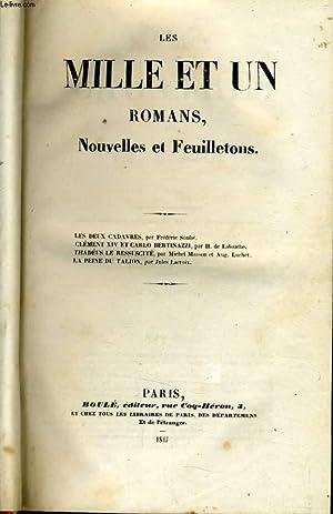 LES MILLES ET UN ROMANS : les deux cadavres, Clément XIV et Carlo Bertinazzi, Thadéus...