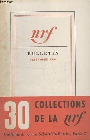BULLETIN SEPTEMBRE 1960 N°152.: COLLECTIF.