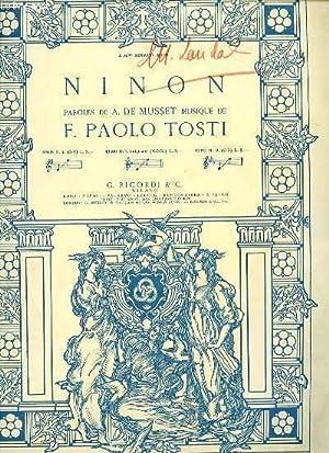 NINON N°1.: F. PAOLO TOSTI.
