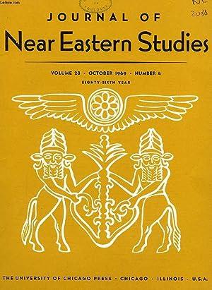 JOURNAL OF NEAR EASTERN STUDIES, VOL. 28, N° 4, OCT. 1969: COLLECTIF