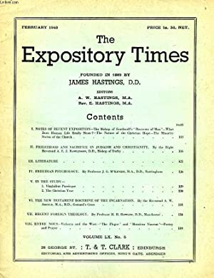 THE EXPOSITORY TIMES, FEB. 1949: COLLECTIF