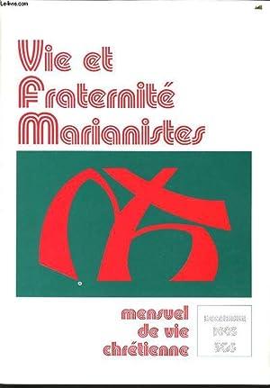 VIE ET FRATERNITE MARIANISTES n°303 : annonces,: CHRISTINE DE SEZE
