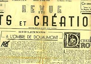 REVUE DES ARTS ET CREATIONS, 2e ANNEE, N.S., N° 10, MAI 1947: COLLECTIF