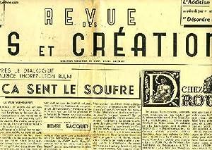 REVUE DES ARTS ET CREATIONS, 2e ANNEE, N.S., N° 15, JUILLET 1947: COLLECTIF