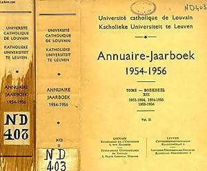 UNIVERSITE CATHOLIQUE DE LOUVAIN, ANNUAIRE / JAARBOEK,: COLLECTIF