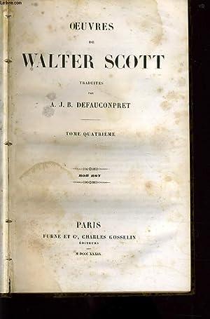 OEUVRES DE WALTER SCOTT tome 4 : Rob Roy: WALTER SCOTT