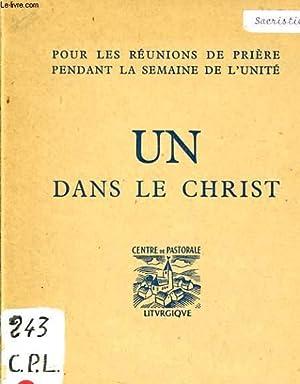 UN DANS LE CHRIST: COLLECTIF