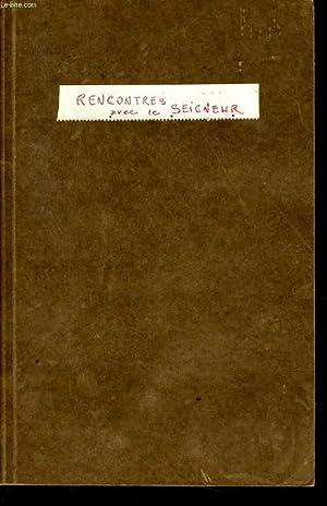 RENCONTRE AVEC LE SEIGNEUR: COLLECTIF