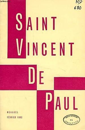 BULLETIN DE LA SOCIETE DE SAINT-VINCENT-DE-PAUL, NOUVELLE SERIE, FEV. 1962: COLLECTIF