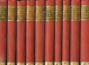 POLYBIBLION, REVUE BIBLIOGRAPHIQUE UNIVERSELLE, 1868-1939, 89 VOLUMES & 153 FASCICULES (...