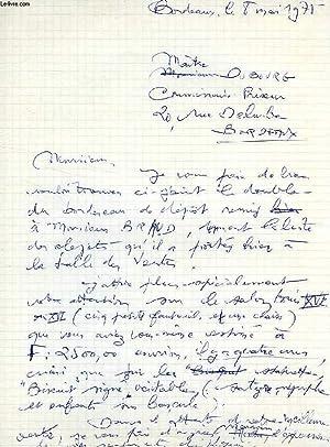 GENEALOGIES FAMILIALES, NOTES ET CORRESPONDANCE 1978 (MANUSCRIT): FRANCE