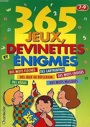 365 JEUX, DEVINETTES, ENIGMES: COLLECTIF