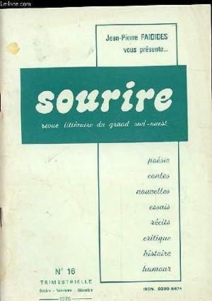 SOURIRE. REVUE LITTERAIRE DU GRAND SUD-OUEST. EXPRIMER,: COLLECTIF