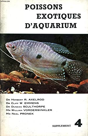 Poissons exotiques d aquarium abebooks for Poissons exotiques aquarium