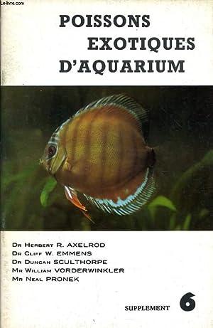 POISSONS EXOTIQUES D'AQUARIUM supplément n°6 : Acestrorhamphus hepsetus - Acuticurimata macrops...