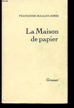 LA MAISON DE PAPIER: FRANCOIS MALLET JORIS