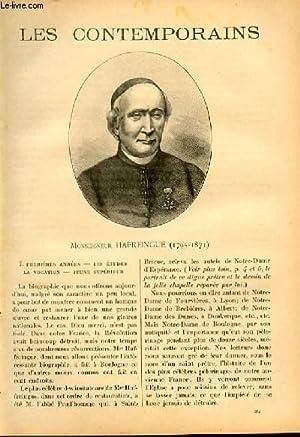 Monseigneur Hafreingue (1795-1871). LES CONTEMPORAINS N°331: Joseph Merlent
