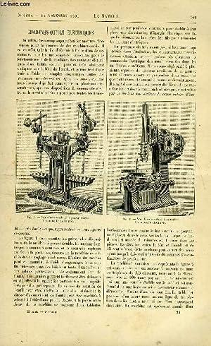 Revue des sciences et de leurs applications aux arts et à l'industrie.: LA NATURE N°...